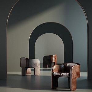 Furniture Armchair 002 3D model