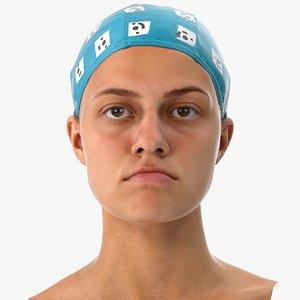 3D penelope human head jaw