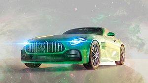 3D car mercedes auto amg model