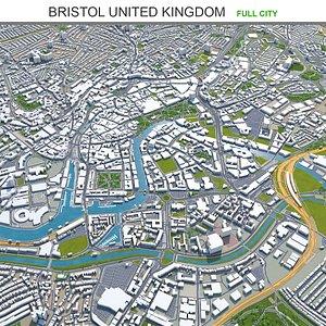 Bristol United Kingdom 3D