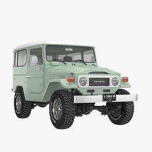 3D model Toyota Land Cruiser FJ40