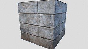 3D pbr stone model
