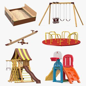 Playground Collection 4 3D model