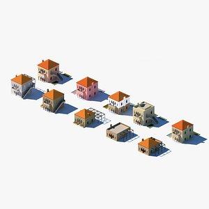 3D set homes