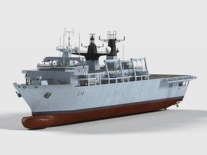 HMS  Albion  L14 3D