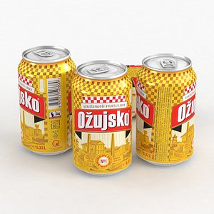 3D Beer Can Ozujsko 330ml 2021