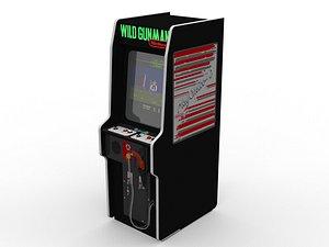 Wild Gunman Arcade Game 3D model