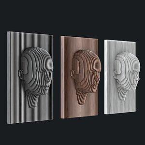 3D parametric panel wood