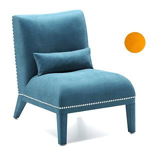 3D model Eulali armchair