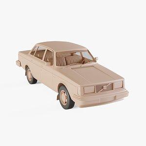 3D 1979 Volvo 244 DL