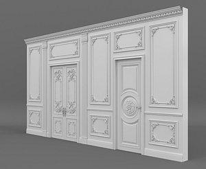 classic wall 3D model