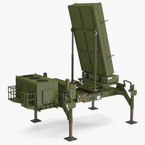 3D ELTA ELM 2084 Multi Mission Radar Rigged model
