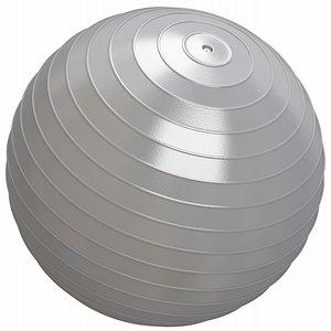 3D ball yoga