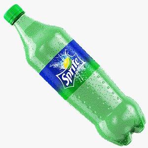 Wet Sprite Bottle 3D