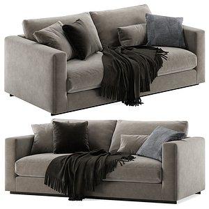 3D Molteni e C Reversi sofa 2 seats model