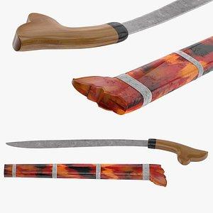 3D model Parang Knife