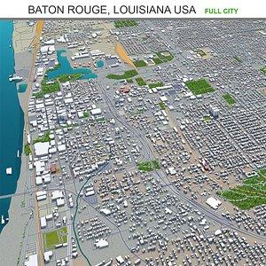 Baton Rouge Louisiana USA 3D model
