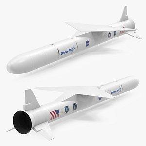 Pegasus XL Rocket 3D model