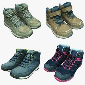 3D hiking boots shoe