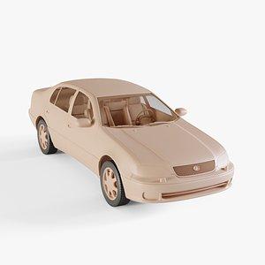 3D model 1997 Lexus GS 300