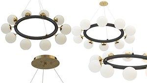 3D chandelier cheer
