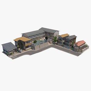 street scene ar 3D model