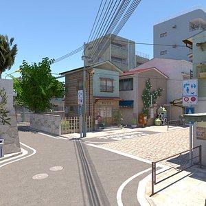 3D Ajisai Street