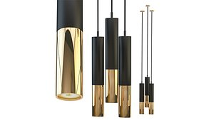 3D chandelier lighting