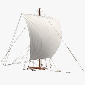 Longship Sail 3D