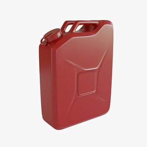 3D Fuel Can 2