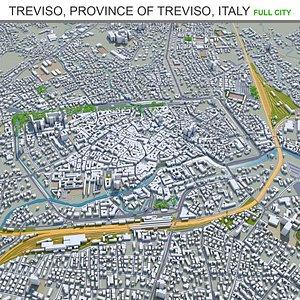 Treviso Province  Treviso Italy 3D model