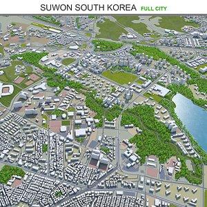 Suwon South Korea 3D model