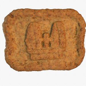 3D castle cookie