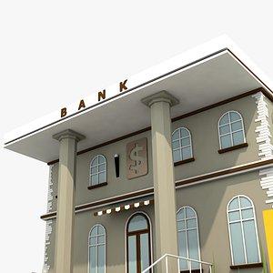 3D Bank model