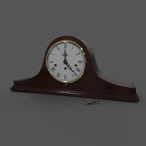 3D mantel clock howard miller