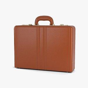 3D attache briefcase brief