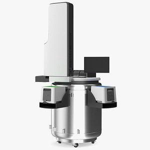 Automated Cryo Storage 3D model