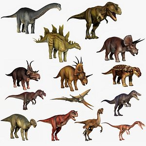 Dinosaur Collection Extended 3D