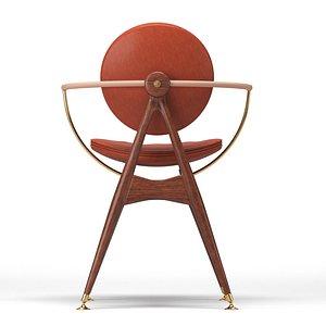 3D model chair studiotwentyseven circle