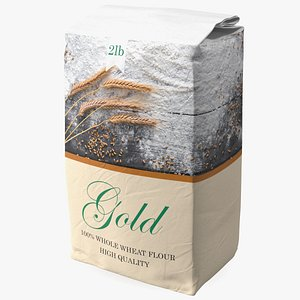 Wheat Flour 2lb 3D
