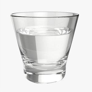 Whiskey rocks glass 3D model