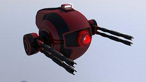 Sci Fi Drone 3D model