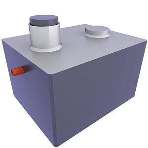 3D Precast Concrete Septic Tank Low Poly Game Mods 12