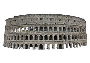 Colosseum Raw Scan 3D model
