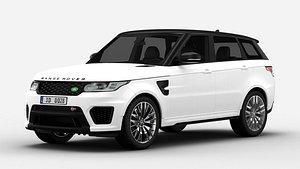 3D Land Rover Range Rover Sport SVR model