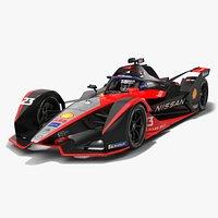 Nissan e.dams Formula E Season 2020 2021 Race Car