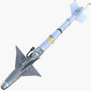 dxf aim-9m sidewinder missile