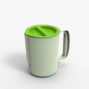3D Plastic mug
