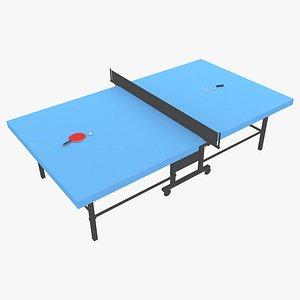 3D model ping pong