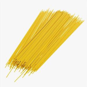 Spaghetti pasta 3D model